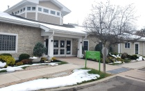Hospice Buffalo Administrative Building/Education Center Entrance.
