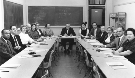 faculty and staff, 1961