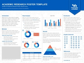 presentation poster template image