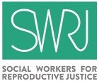 logo for social workers for reproductive justice