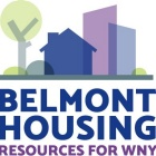 Belmont Housing Resources for WNY logo.
