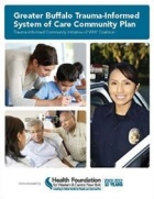 Cover page of the Greater Buffalo Trauma-Informed System of Care Community Plan
