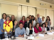 Photo of group training with All Star Children's Foundation in Sarasota, Florida